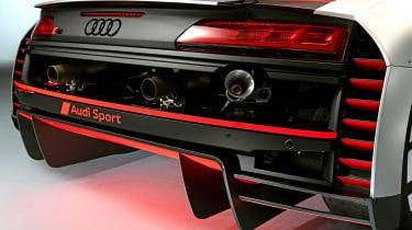 Audi R8 LMS GT3 - rear detail