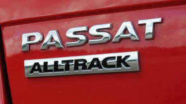 Volkswagen Passat Estate badge