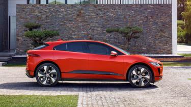 Jaguar I-Pace - side static