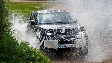 Land Rover Defender - splash