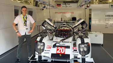 """<strong>Graham Hope, Deputy editor&nbsp;</strong>  <em><b>Porsche's Tech Transfer</b> &nbsp;</em>  <span>It's not often you get the access I was afforded from Porsche when I travelled </span><span style=""""font-size: 0.8125em;"""">to Ba"""