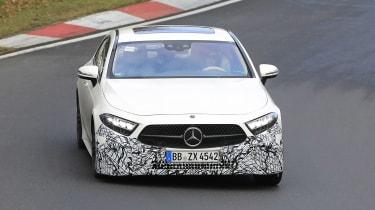 Mercedes CLS - spyshot 3