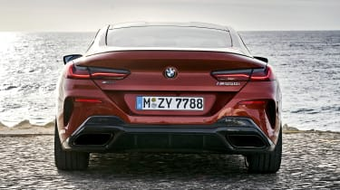 BMW 8 Series - full rear static