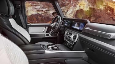 Mercedes G-Class - interior