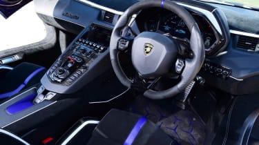Lamborghini Aventador SVJ - dash