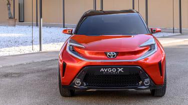 Toyota Aygo X prototype - full front