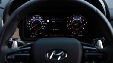 Hyundai Kona N - dials