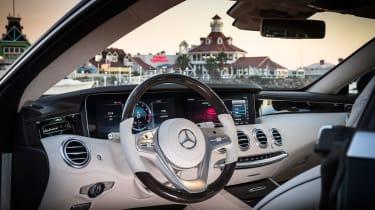 Mercedes S-Class coupe - interior