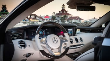 Mercedes S-Class coupe - interior