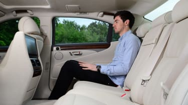 Lexus LS 600h Luke Madden
