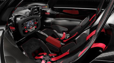 Aston Martin Valkyrie Ultimate - interior