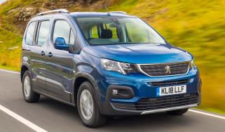 Peugeot Rifter Allure BlueHDI diesel –front