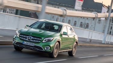 Mercedes GLA 2017 facelift