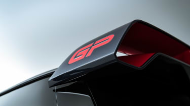 MINI John Cooper Works GP - GP badge on wing