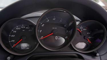 Used Porsche Boxster - dials