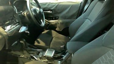 Toyota Auris spy shot 2018 interior
