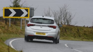 Vauxhall Astra - rear driving