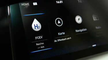 Hyundai NEXO - display