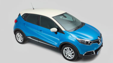 Used Renault Captur - above