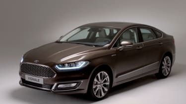 TheFord Mondeo Vignale will sit at the top of the Mondeo range.