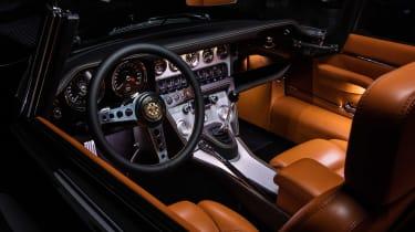"""""""Unleashed"""" Jaguar E-Type restomod - interior"""