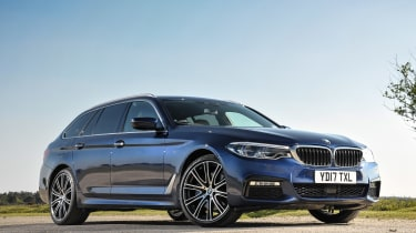 BMW 5 Series Touring - front static