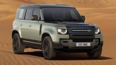 Jake Weaver Land Rover Defender front