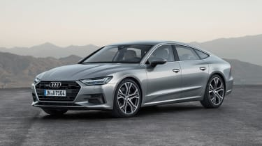 Audi A7 Sportback - front static