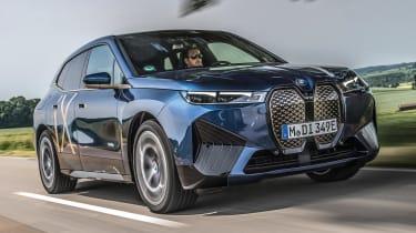 BMW iX prototype - front