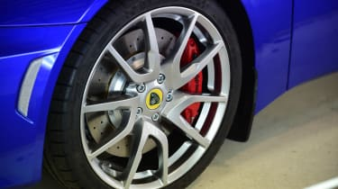 Best of British - Lotus - Evora 400 wheel