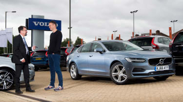 Volvo S90 long term test first report - header