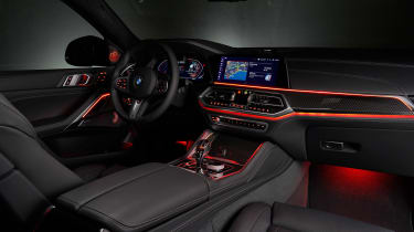 BMW X6 - dash lights