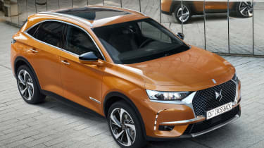 DS 7 Crossback - front quarter