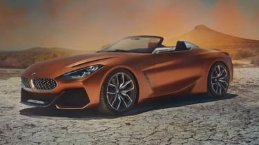 BMW Concept Z4 leaked - front
