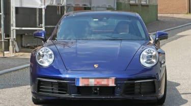 Next generation Porsche 911 headlights