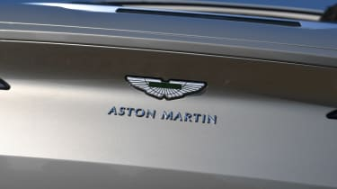 Aston Martin DB11 Volante - Aston Martin badge