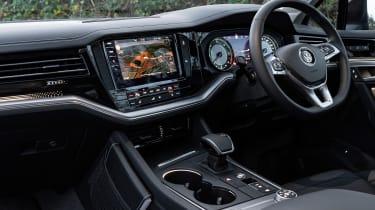 VW Touareg 3.0 V6 petrol - dash