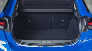 Vauxhall Corsa-e - boot