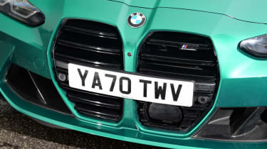 BMW M3 Competition - grille