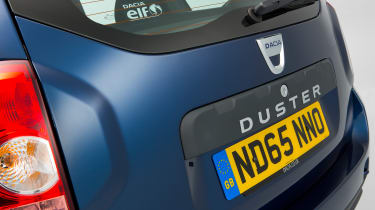 Used Dacia Duster - rear detail