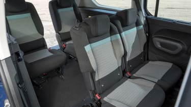 Berlingo rear seats