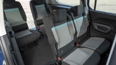 Berlingo rear seats