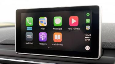 Audi RS5 - Apple CarPlay