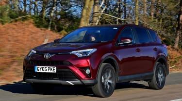 Toyota RAV4 2016 - front tracking
