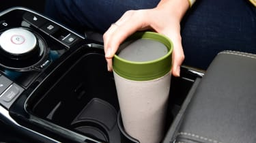 Kia e-Niro long termer - first report cup holder