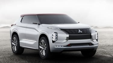 Mitsubishi GT-PHEV Concept front studio