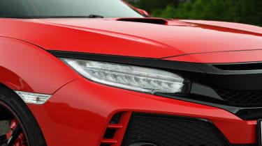 Honda Civic Type R - front light