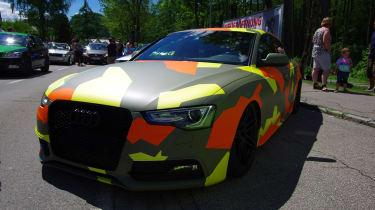 camo Audi - Worthersee