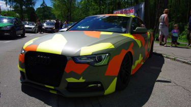 camo Audi - Worthersee