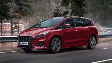 Ford S-Max hybrid - front action